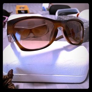 Oakley Jupiter NEW tan bronze women's sweet!